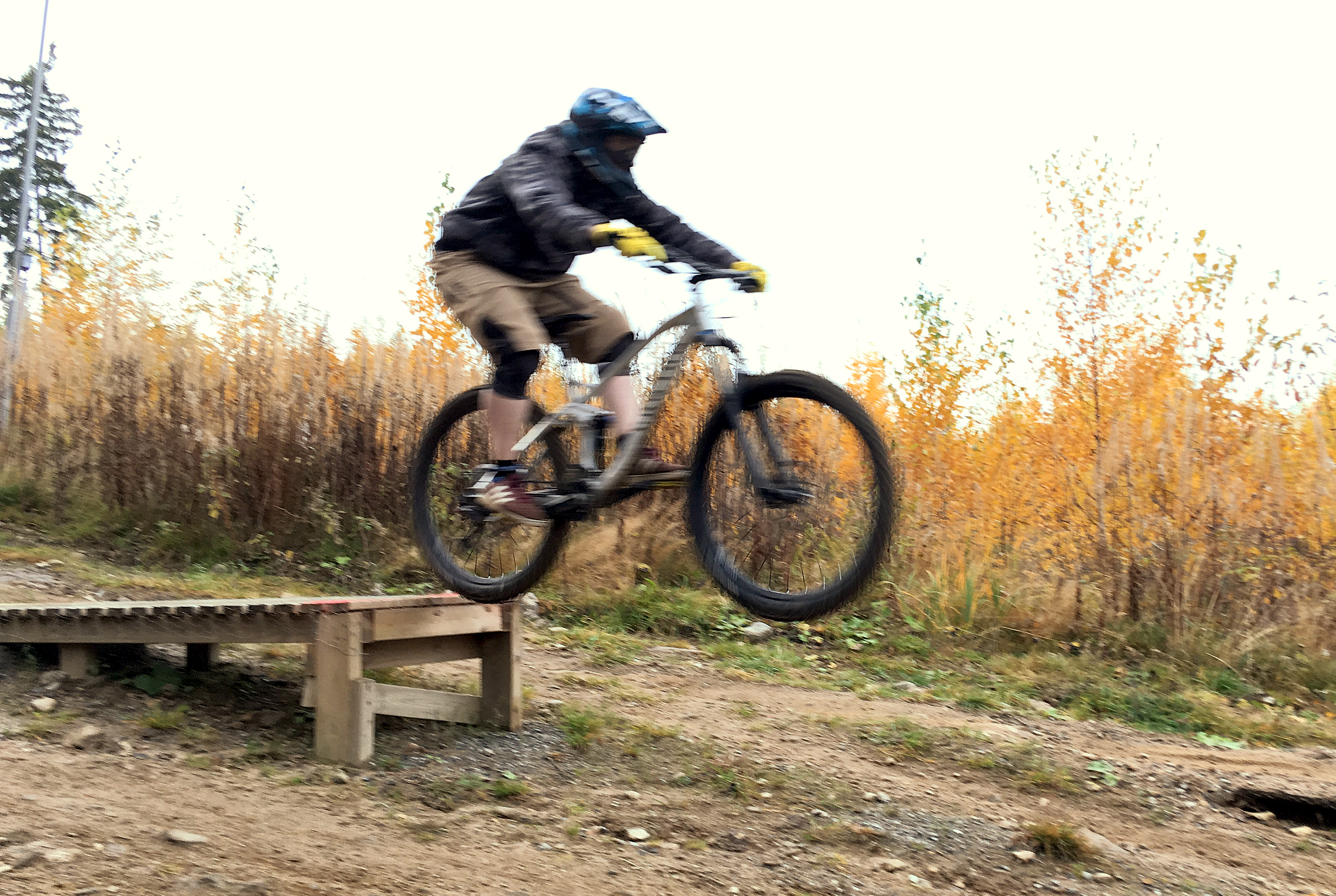 Mountain biking in Sappee Bike Park