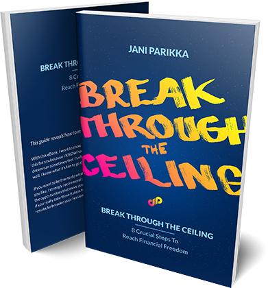 Break through the ceiling eBook mockup